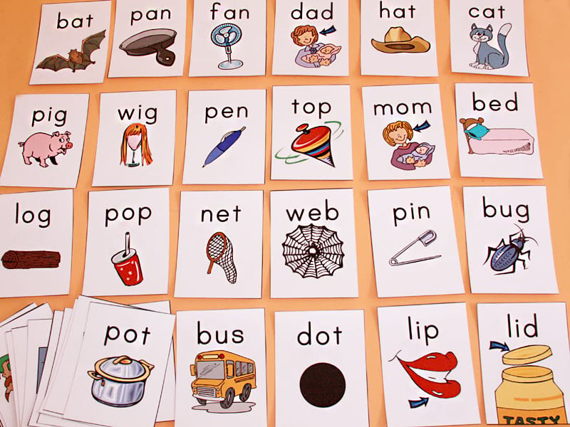 карточки с картинками для заучивания слов инвестора тебя
